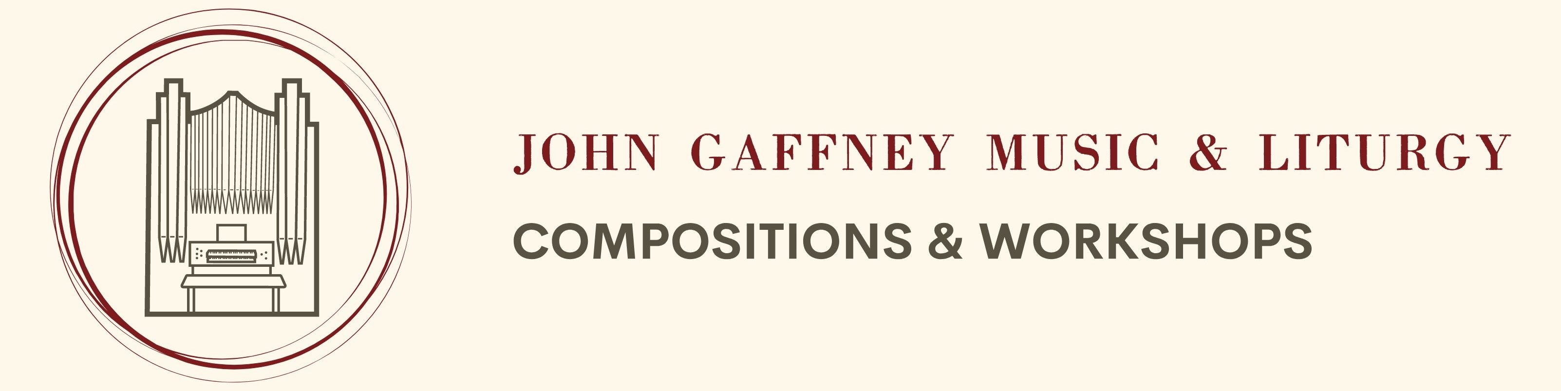 John Gaffney Music & Liturgy